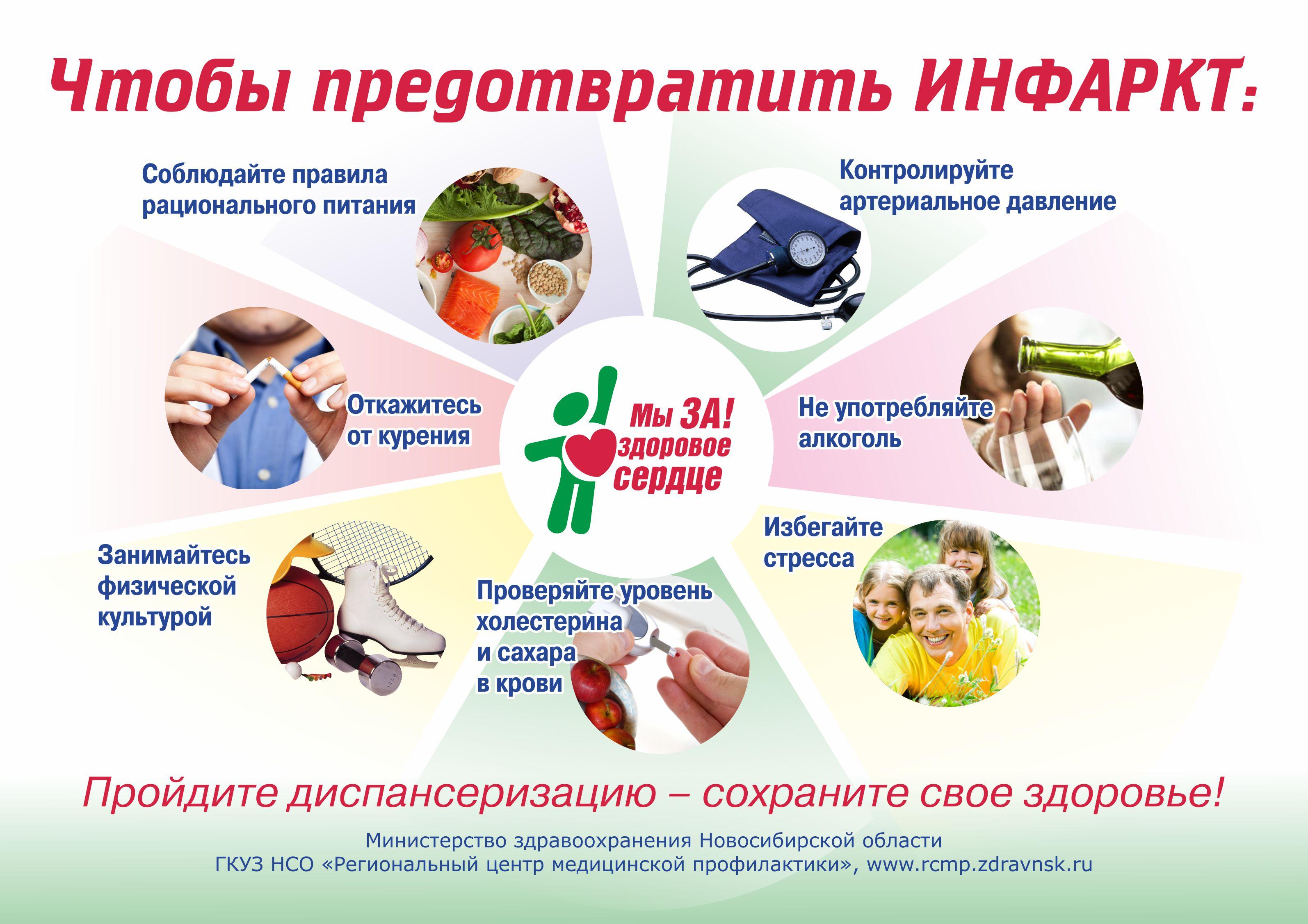Как предупредить инфаркт или профилактика инфаркта миокарда