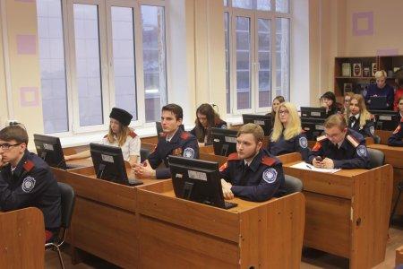В МГУТУ им. К.Г. Разумовского (ПКУ) состоялось открытие занятий кибердружины