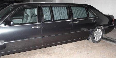 Старый лимузин Путина выставили на продажу