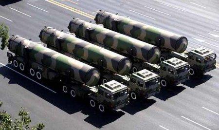 Китай разместил у границы с Россией новые межконтинентальные ракеты DF-41