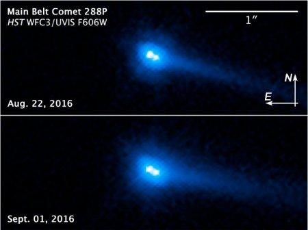 Обнаружен уникальный двойной астероид с чертами кометы